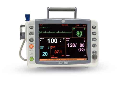 Dash 2500 - GE Dash 2500 Patient Monitor